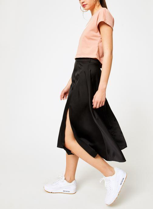 Kläder Nike Tee-Shirt court Femme Nike Sportswear Rosa bild från under
