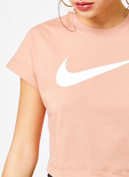 Kläder Nike Tee-Shirt court Femme Nike Sportswear Rosa bild från framsidan