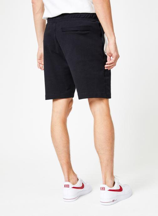 Vêtements Nike Short Hybrid Homme Nike Sportswear Coton gratté Noir vue portées chaussures