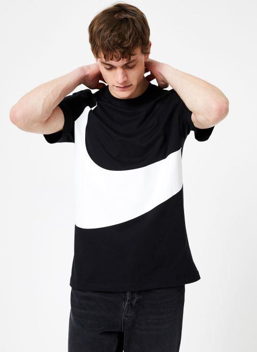 Vêtements Nike Tee-Shirt Swoosh Homme Nike Sportswear Noir vue droite