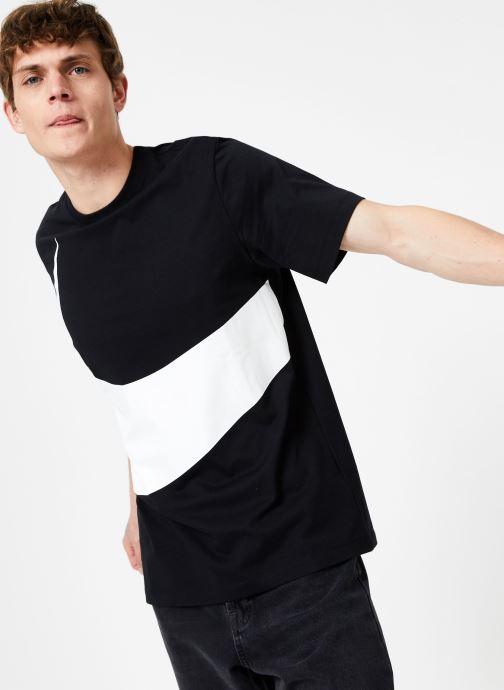 Vêtements Nike Tee-Shirt Swoosh Homme Nike Sportswear Noir vue détail/paire