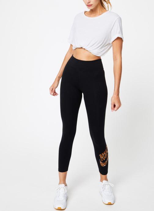 Tøj Nike Legging Femme Nike Sportswear imprimé Léopard Sort se forneden