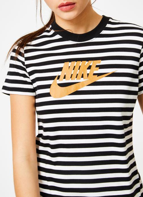 Vêtements Nike Tee-Shirt Femme Nike Sportswear imprimé Léopard Blanc vue face