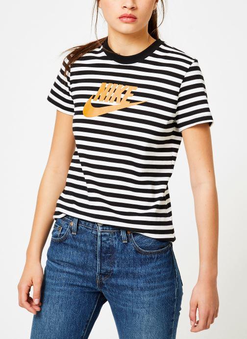 Kleding Nike Tee-Shirt Femme Nike Sportswear imprimé Léopard Wit rechts