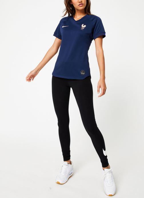 Vêtements Nike Maillot Nike FFF Femme domicile Bleu vue bas / vue portée sac