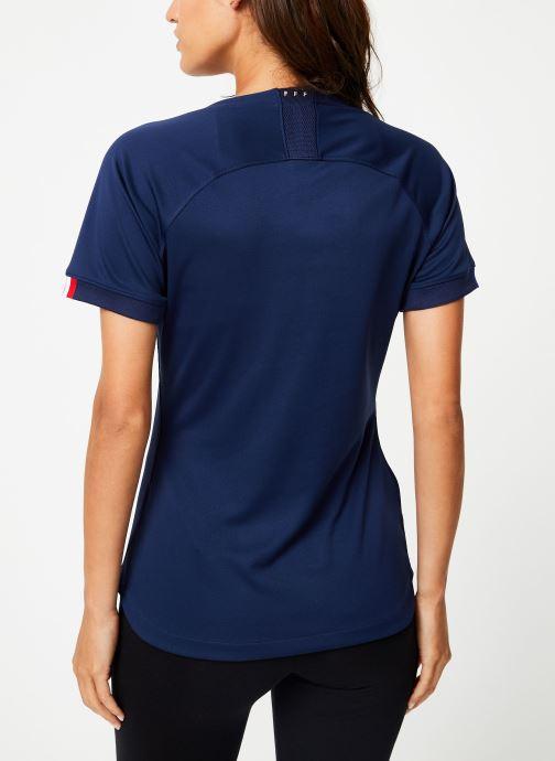 Vêtements Nike Maillot Nike FFF Femme domicile Bleu vue portées chaussures