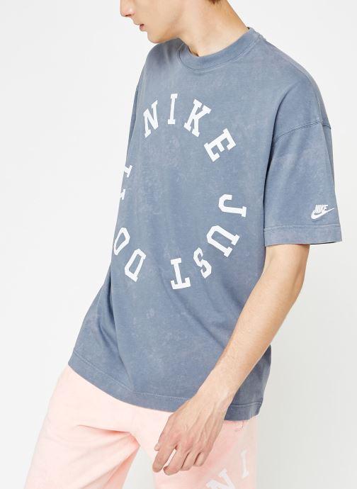 Tøj Nike Tee-Shirt Homme Nike Sportswear Blå detaljeret billede af skoene