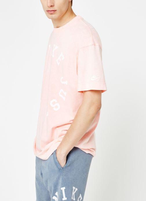 Tøj Nike Tee-Shirt Homme Nike Sportswear Pink detaljeret billede af skoene