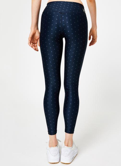 Vêtements Nike Collant 7/8 FFF Femme Bleu vue portées chaussures