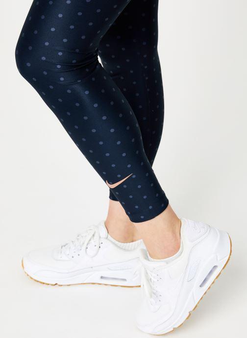 Vêtements Nike Collant 7/8 FFF Femme Bleu vue face