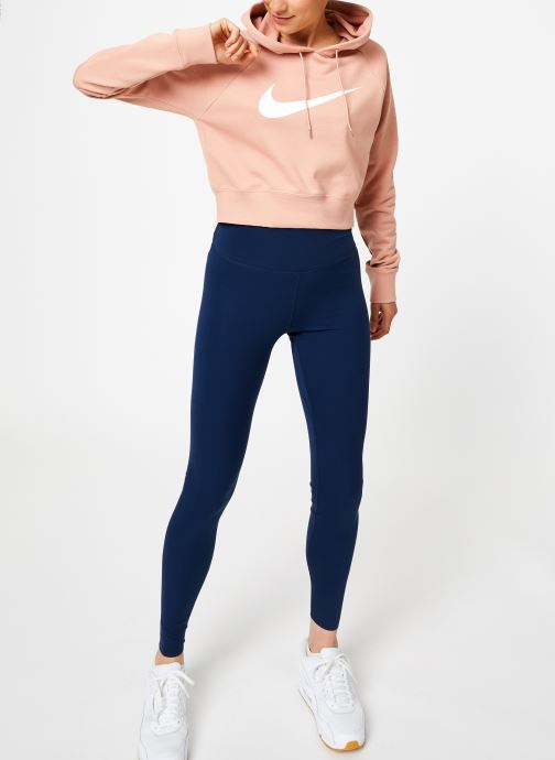 Tøj Nike Sweat court Nike Sportswear Femme coton gratté Pink se forneden