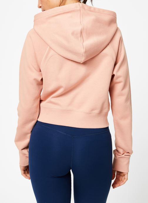 Tøj Nike Sweat court Nike Sportswear Femme coton gratté Pink se skoene på
