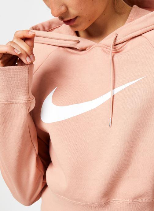 Tøj Nike Sweat court Nike Sportswear Femme coton gratté Pink se forfra