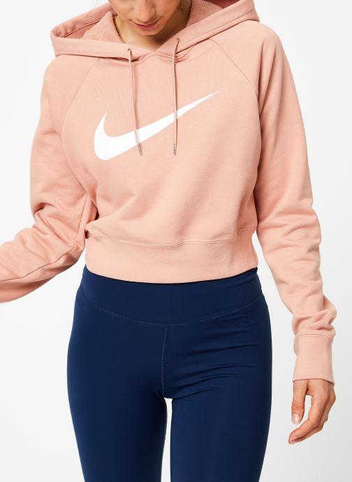 Tøj Nike Sweat court Nike Sportswear Femme coton gratté Pink Se fra højre