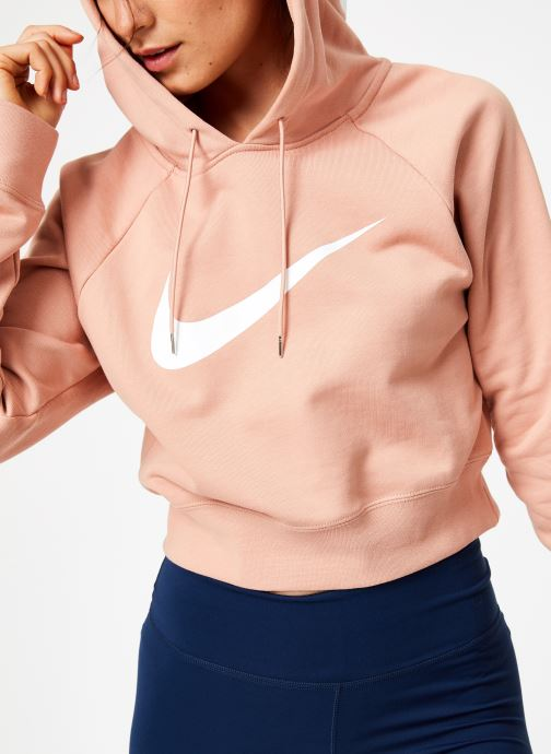Tøj Nike Sweat court Nike Sportswear Femme coton gratté Pink detaljeret billede af skoene