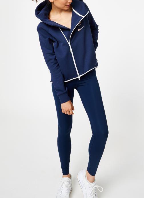 Tøj Nike Veste Cape FFF zippée Femme Blå se forneden
