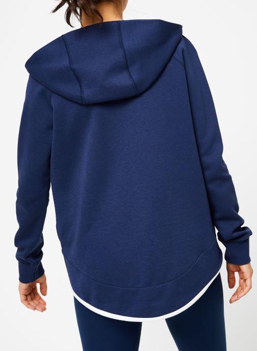Tøj Nike Veste Cape FFF zippée Femme Blå se skoene på