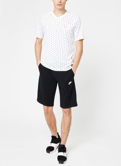 Kleding Nike Maillot Nike FFF Homme extérieur Wit onder