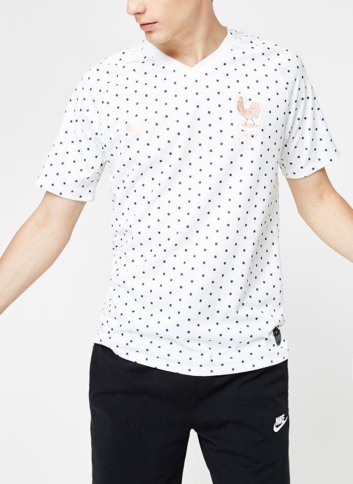 Kleding Nike Maillot Nike FFF Homme extérieur Wit detail