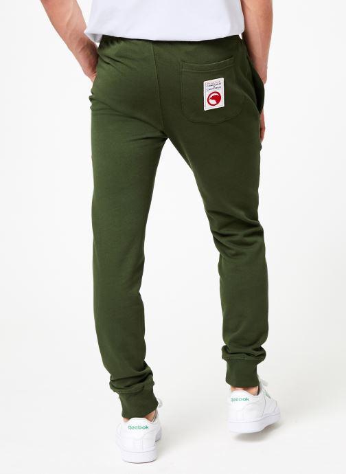 Vêtements Compagnie de Californie Diego Jogpants 3 Vert vue portées chaussures