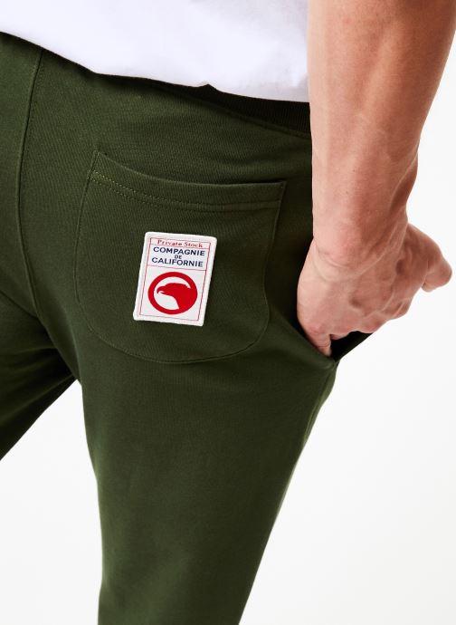 Vêtements Compagnie de Californie Diego Jogpants 3 Vert vue face