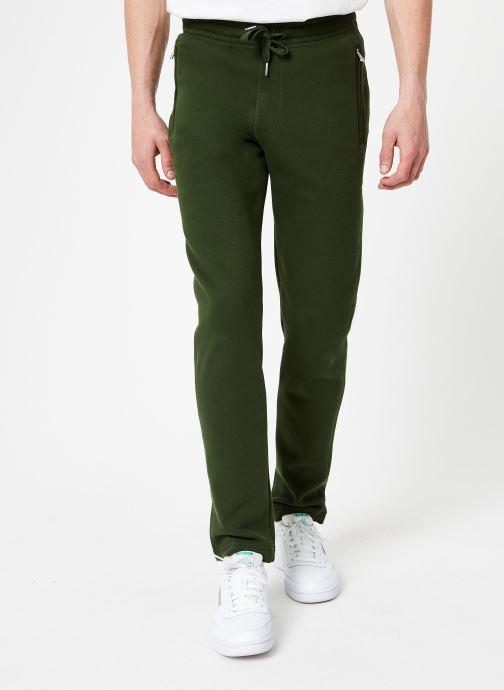 Tøj Compagnie de Californie Stockton Jogpants Grøn detaljeret billede af skoene