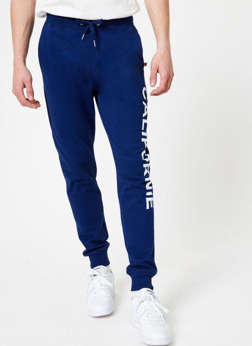 Tøj Compagnie de Californie Palo Alto Jogpants Blå detaljeret billede af skoene