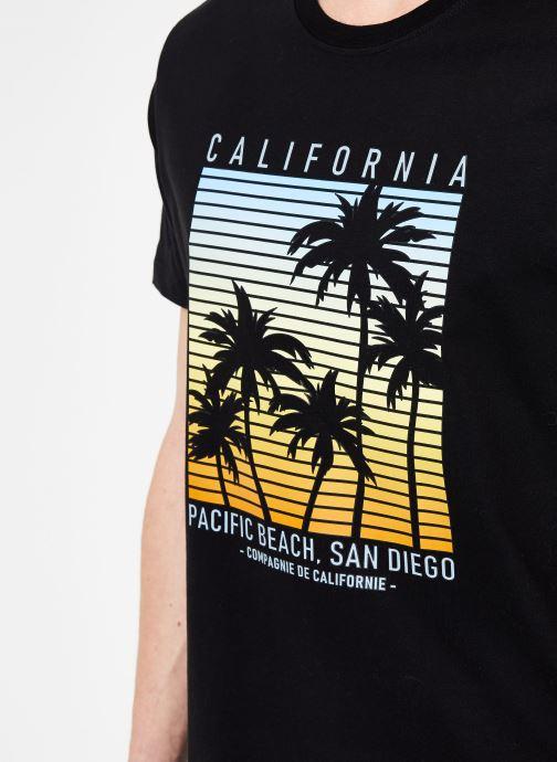 Tøj Compagnie de Californie Monterey T-Shirt Sort se forfra