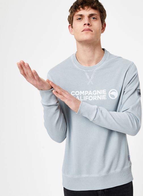 Tøj Compagnie de Californie Ventura Sweat Grå Se fra højre