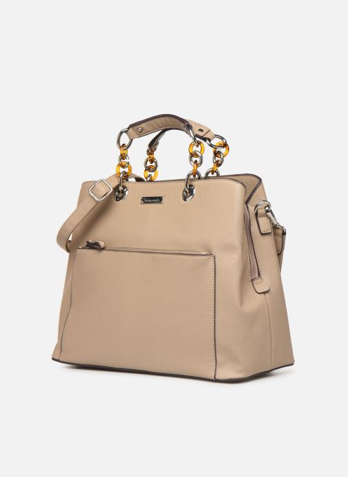 Sacs à main Tamaris Rania Business Bag Beige vue portées chaussures