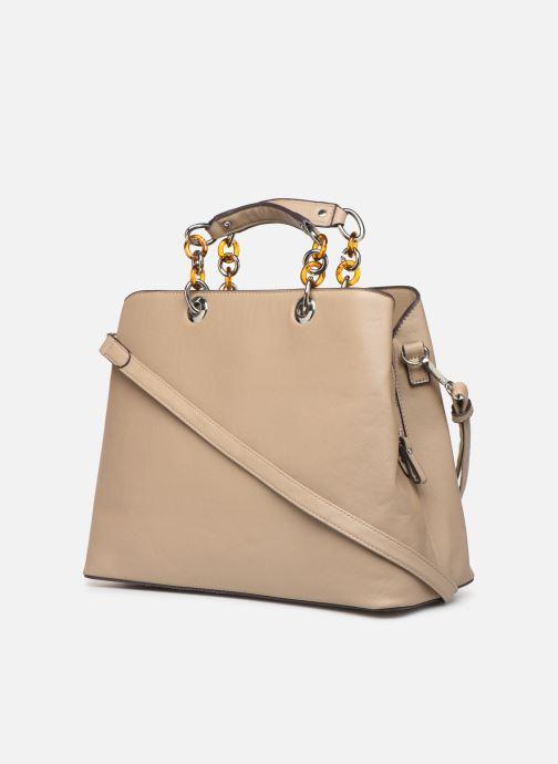 Handtaschen Tamaris Rania Business Bag beige ansicht von rechts