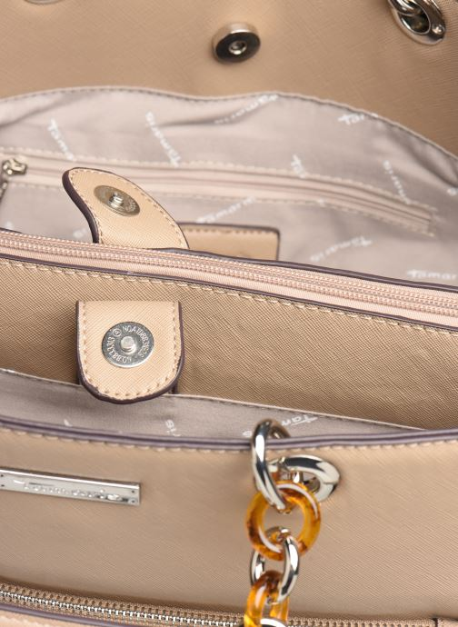 Handtaschen Tamaris Rania Business Bag beige ansicht von hinten
