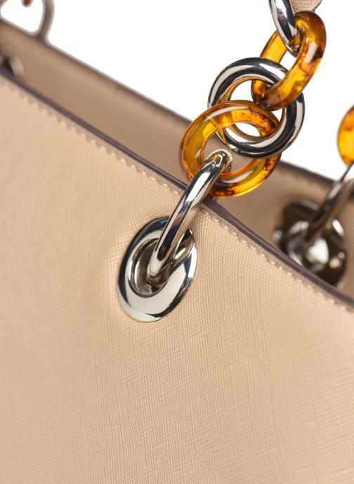 Handtaschen Tamaris Rania Business Bag beige ansicht von links