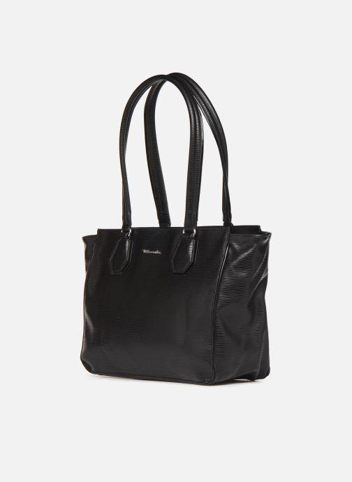 Sacs à main Tamaris Babette Shoulder Bag Noir vue portées chaussures