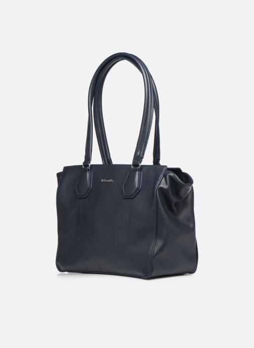 Sacs à main Tamaris Babette Shoulder Bag Bleu vue portées chaussures