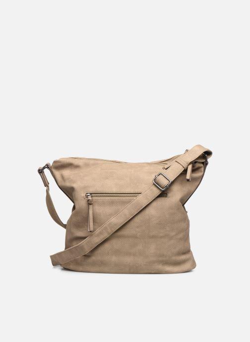 Handtaschen Tamaris Adriana Hobo Bag L beige ansicht von vorne