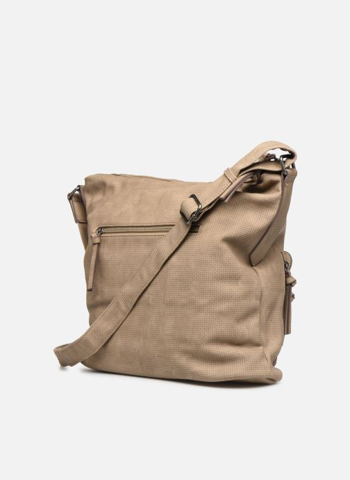 Handtaschen Tamaris Adriana Hobo Bag L beige ansicht von rechts