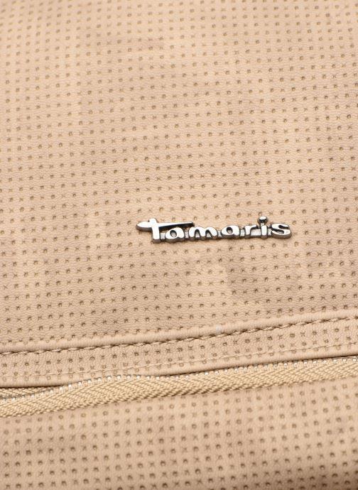 Handtaschen Tamaris Adriana Hobo Bag L beige ansicht von links