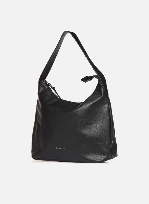 Sacs à main Tamaris Louise Hobo Bag Noir vue portées chaussures