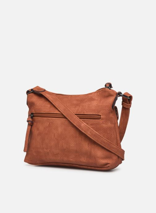 Handbags Tamaris Adriana Crossbody Bag S Brown view from the right