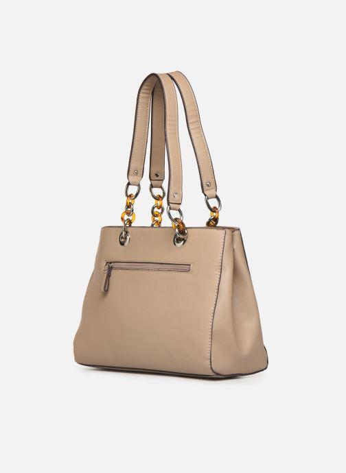 Handbags Tamaris Rania Shoulder Bag Beige view from the right