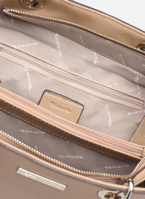 Handbags Tamaris Rania Shoulder Bag Beige back view