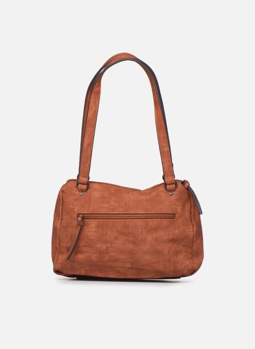 Handbags Tamaris Adriana Shoulder Bag Brown front view
