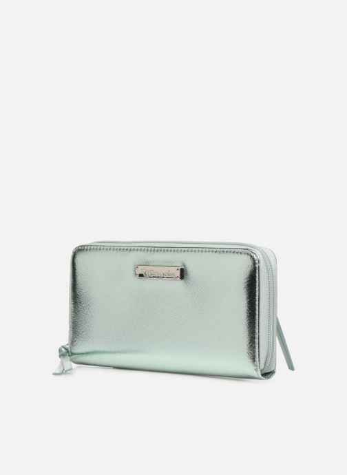 Kleine lederwaren Tamaris Debra Big Zip Around Wallet Zilver model