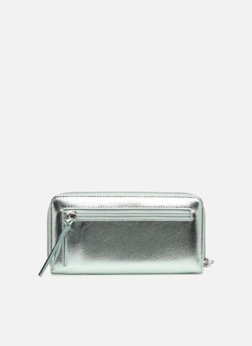 Marroquinería pequeña Tamaris Debra Big Zip Around Wallet Plateado vista de frente