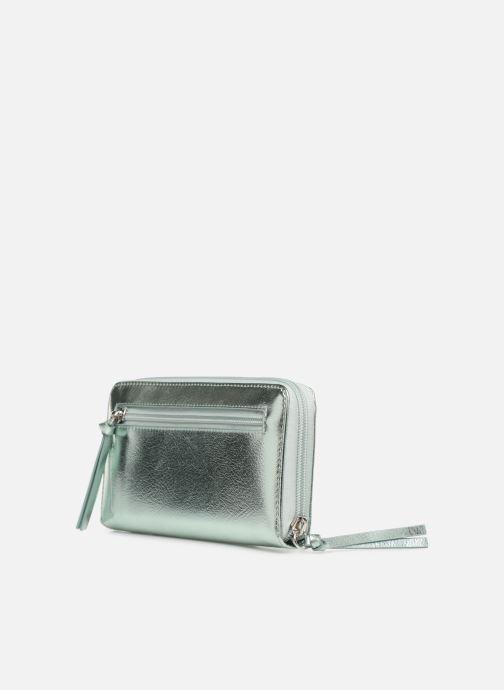 Marroquinería pequeña Tamaris Debra Big Zip Around Wallet Plateado vista lateral derecha
