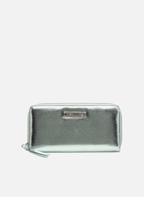 Kleine lederwaren Tamaris Debra Big Zip Around Wallet Zilver detail