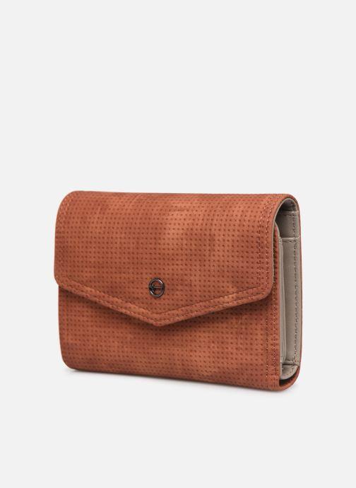 Portemonnaies & Clutches Tamaris Adriana Small Wallet With Flap braun schuhe getragen