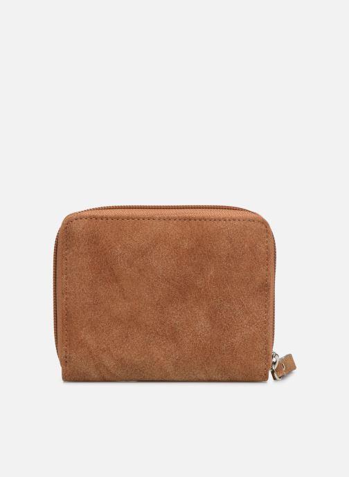 Kleine lederwaren Tamaris Khema Small  Zip Around Wallet Bruin voorkant