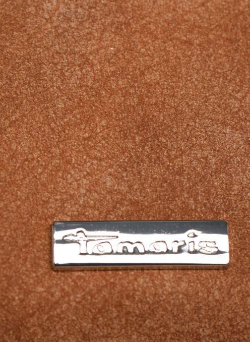 Kleine lederwaren Tamaris Khema Small  Zip Around Wallet Bruin links
